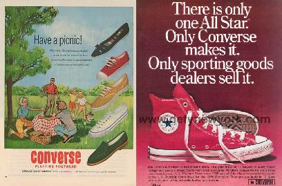 White Lies » Blog Archive » Converse ads 1940-2013